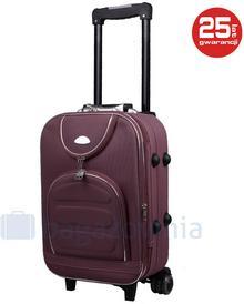PELLUCCI Mała kabinowa walizka PELLUCCI 801 S - Brązowy - brązowy