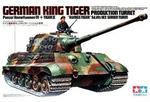 Tamiya King Tiger z wieżą Henschel 35164