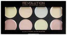 Revolution Makeup Makeup Revolution Ultra Strobe Balm Palette Paleta Rozświetlaczy MUR-3981