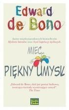 Mieć piękny umysł Bono Edward De