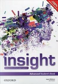Oxford Insight Advanced Student's Book - Wildman Jayne