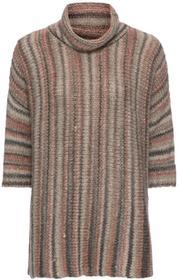 Bonprix Sweter oversize w kolorowe paski