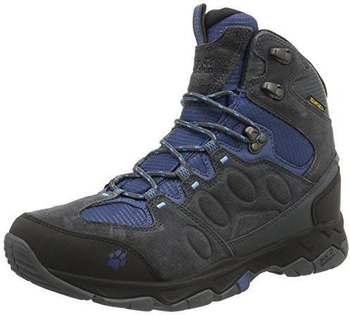 Jack Wolfskin MTN Attack 5 Texapore M męskie-& Wander buty trekkingowe, kolor: szary (Ocean Wave), rozmiar: 45 B00Z0D2T2O