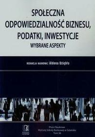 Społeczna odpowiedzialność biznesu podatki inwestycje - CeDeWu