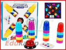 TIMA Gra SPEED CUPS - Pędzące kubki - gra rodzinna 5052 5052