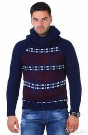 Sweter męski YOAN NAVY 0005001-28