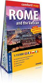 ExpressMap praca zbiorowa comfort! map Rzym i Watykan (Rome and the Vatican). Kieszonkowy, laminowany plan miasta 1:15 000