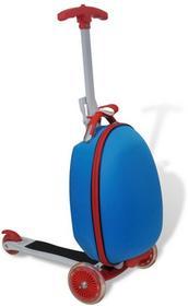 vidaXL Hulajnoga dla dzieci z niebieskim kuferkiem