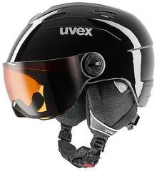 Uvex Kask Junior Visor 56/6/202 czarny 4043197265407