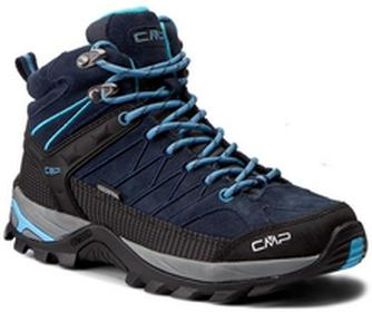 CMP Trekkingi Rigel Mid Wmn Trekking Shoes Wp 3Q12946 B Blue/Clorophilla 82BD