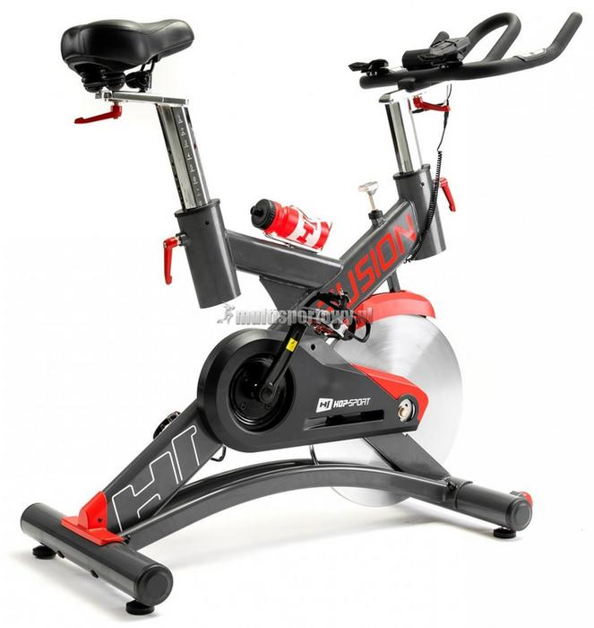 Hop-Sport Rower treningowy spiningowy HS-075IC Fusion
