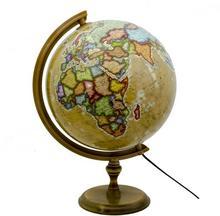 Globus polityczny retro, podświetlany 32cm Zachem Zachem