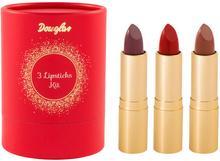 Douglas Collection Collection Zestawy Kit Of 3 Lipsticks Zestaw do makijażu