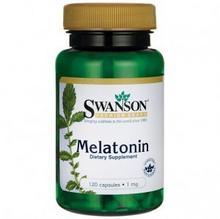 Swanson Melatonina 1000mcg 120 vcaps