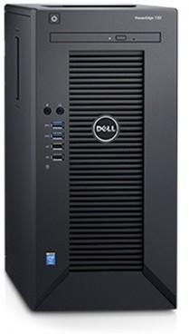 Dell Serwer PE T30|Chassis 4 x 3.5|E3-1225 v5|8GB PET3002
