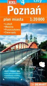 Demart Poznań Plus 4 Plan miasta 1:20 000 - Demart