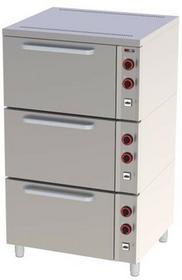 RedFox Piekarnik elektryczny 3x GN 2/1 EPP - 03 | 00020383