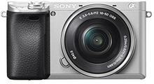 Sony A6300 + 16-50 mm srebrny