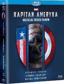 Trylogia Kapitan Ameryka Blu-ray) Johnston Joe Russo Anthony Russo Joe
