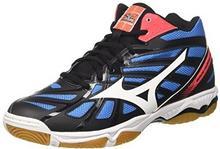 on sale 30d9c 6adc2 -27% Mizuno męskie buty Wave Hurricane Mid Volley Ball - wielokolorowa - 42  EU V1GA174501