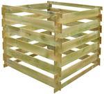 Opinie o vidaXL Kompostownik drewniany 0,54 m3