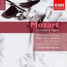 BARENBOIM/ENGLISH CHAMBER ORCHESTRA GEMINI-LE NOZZE DI FIGARO CD BARENBOIM/ENGLISH CHAMBER ORCHESTRA