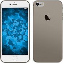 PhoneNatic Wariant iPhone etui Slim Case 01, szary Apple iPhone 7 grau