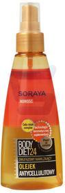 Soraya Body Diet 24 Antycellulitowy olejek do ciała 150 ml