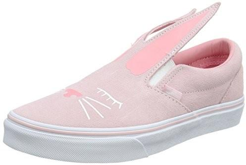 88d4c65a Vans uniseks dzieci Slip-on Bunny Sneaker - różowy - 33 EU B078WZ13DH