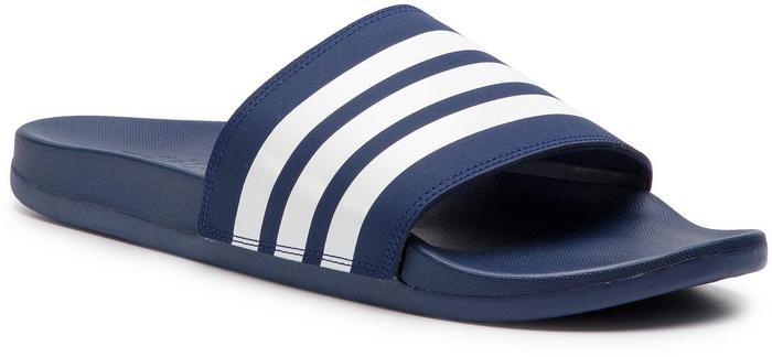 brand new e675d 9ca04 Adidas Klapki adilette Comfort B42114 Dk BlueFtwwhtDk Blue - Ceny i  opinie na Skapiec.pl