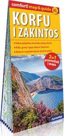 ExpressMap praca zbiorowa comfort! map&guide XL Korfu i Zakintos Laminowany map&guide