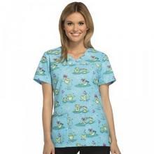 Cherokee - Originals Cherokee Originals Damska bluza medyczna wzór TDAW TDAW/S 12198