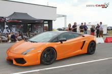 Jazda Lamborghini Gallardo kierowca Olsztyn 1 okrążenie