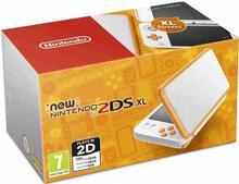 Nintendo New 2DS XL White and Orange