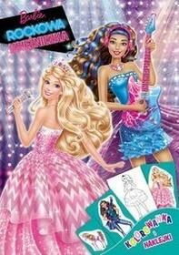Ameet Barbie Rockowa Księżniczka Kolorowanka i naklejki - Ameet