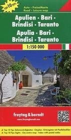 Apulien Brindisi mapa 1:150 000 - Freytag & Berndt