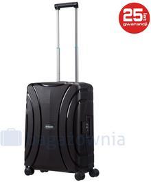 Samsonite AT by Mała kabinowa walizka AT LOCK'N'ROLL 68601 Czarna - czarny