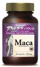 SWANSON Maca ekstrakt 500mg 60kaps - suplement diety