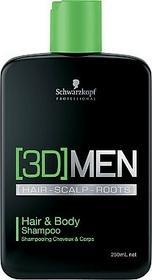 Schwarzkopf Professional Szampon do włosów i ciała - Professional 3D Mension Hair & Body Shampoo Szampon do włosów i ciała - Professional 3D Mension Hair & Body Shampoo