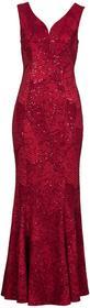 Bonprix Sukienka wieczorowa czerwony