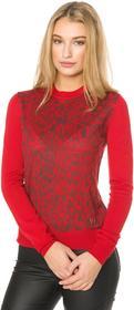 Versace Jeans Jeans Sweter Czerwony L (188267)