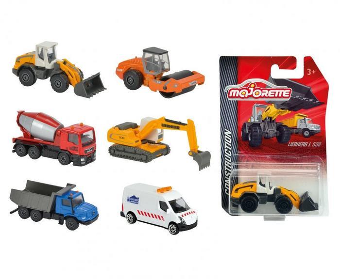 Simba Toys Majorette, pojazdy budowlane