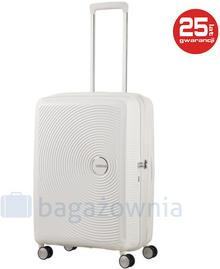 Samsonite AT by Średnia walizka AT SOUNDBOX 88473 Biała - biały