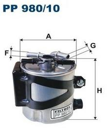 FILTRON Filtr paliwa PP980/10