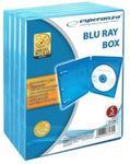 Esperanza Pudełko NA 1 BLU-RAY 12mm BLUE PAK 5 SZT. 3129