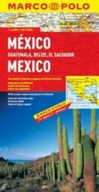 Daunpol praca zbiorowa Meksyk, Gwatemala, Belize, Salwador. Mapa Marco Polo w skali 1: 2,5 000 000