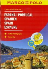 zbiorowa Praca Atlas Hiszpania/Portugalia 1:300 000 - MARCO POLO / wysyłka w 24h