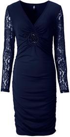 Bonprix Sukienka ciemnoniebieski