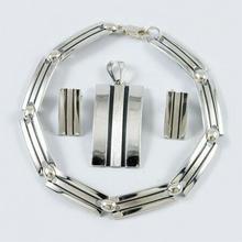 NA Komplet srebrny bransoletka + wisiorek + kolczyki B57/0 W22/0 K13/0 (B57/0 W22/0 K13/0) 176.00