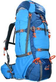 Highlander Plecak Turystyczny Ben Nevis 65L Niebieski RUC245-BL